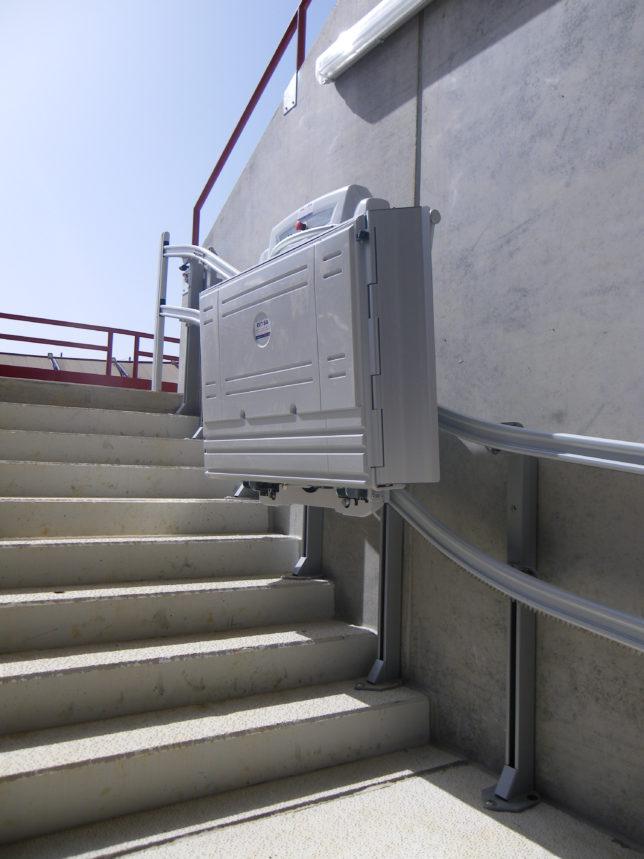 Plataforma salvaescaleras malaga
