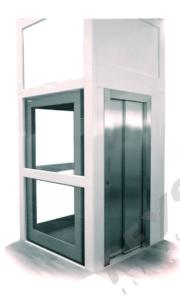 Plataforma vertical elevador unifamiliar malaga